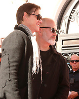 LOS ANGELES - DEC 4:  David Miller, Ryan Murphy at the Ryan Murphy Star Ceremony on the Hollywood Walk of Fame on December 4, 2018 in Los Angeles, CA