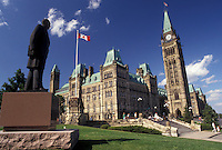 AJ2924, Ottawa, Parliament, Ontario, Canada, The magnificent Gothic style Parliament Buildings on Parliament Hill in Ottawa the capital city of Canada in the Province of Ontario.