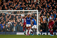 Theo Walcott of Everton looks dejected after hitting the crossbar during the Premier League match between Everton and West Ham United at Goodison Park on October 19th 2019 in Liverpool, England. (Photo by Daniel Chesterton/phcimages.com)<br /> Foto PHC/Insidefoto <br /> ITALY ONLY
