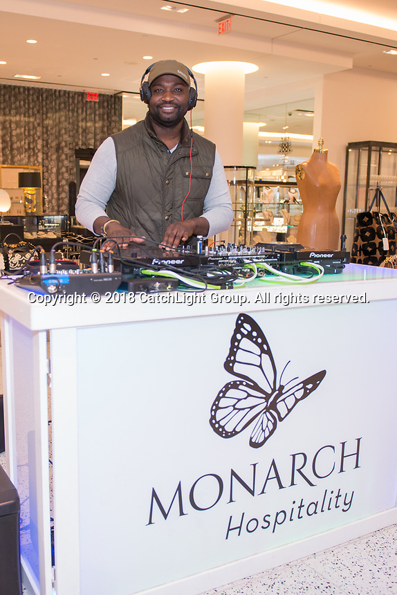 Guests get a look and taste of Monarch Hospitality at their launch party held at Tootsies.
