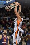 Turkish Airlines Euroleague 2017/2018.<br /> Regular Season - Round 8.<br /> FC Barcelona Lassa vs Valencia Basket: 89-71.<br /> Tibor Pleiss.