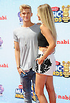 Cody Simpson and Gigi Hadid arriving at the 'Radio Disney Music Awards 2014' held at Nokia Theatre L.A. Live Los Angeles, CA. April 26, 2014.