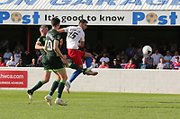 Joe Quigley of Dagenham and Redbridge scores the third goal for his team during Dagenham & Redbridge vs Hartlepool United, Vanarama National League Football at the Chigwell Construction Stadium on 14th September 2019