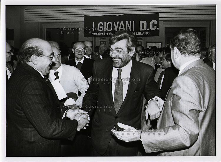 Giovanni Giuseppe Goria è stato un politico italiano e il più giovane Presidente del Consiglio dei ministri della Repubblica Italiana.