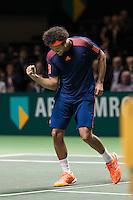 ABN AMRO World Tennis Tournament, Rotterdam, The Netherlands, 17 Februari, 2017, Jo-Wilfried Tsonga (FRA)<br /> Photo: Henk Koster