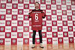 Sergi Samper (Vissel), <br /> MARCH 7, 2019 - Football : Vissel Kobe new signing player Sergi Samper during a press confrence in Tokyo, Japan. <br /> (Photo by MATSUO.K/AFLO SPORT)