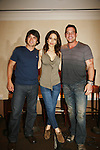 Dominic Zamprogna - Lisa LoCiero - Tyler Christopher - General Hospital actors came to Uncle Vinny's/Ferraras at the Crown Plaza in Trevose, Pennsylvania on April 22, 2010 to see fans with a q & a and autographs and taking of photos. (Photo by Sue Coflin/Max Photos0