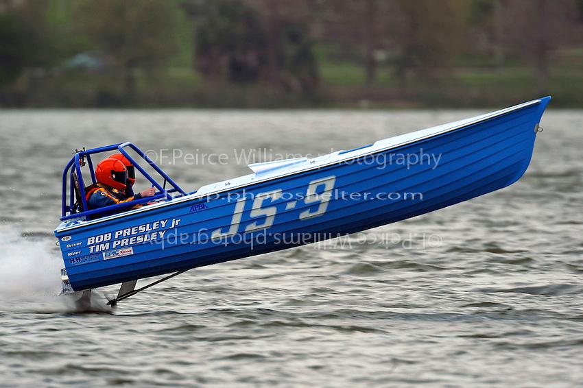 """Robert Presley, Jr., JS-9 , """"Kentucy Blue""""    (Jersey Speed Skiff(s)"""