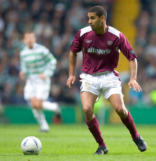 Patrick Kisnorbo. Hearts.stock season 2004-2005.pic willie vass