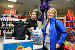 24/9/15 Bray Co Wicklow.<br /> Una Condron first through the tills at the open of the new Dealz store in Bray Co Wicklow.<br /> Picture Fran Caffrey /Newsfile/Professional Images