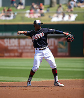 Francisco Lindor - Cleveland Indians 2016 spring training (Bill Mitchell)