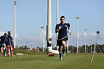 06 January 2012: Brian Rowe (UCLA). The 2012 MLS Player Combine was held on the cricket oval at Central Broward Regional Park in Lauderhill, Florida.