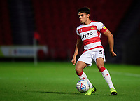 Doncaster Rovers' Reece James<br /> <br /> Photographer Chris Vaughan/CameraSport<br /> <br /> EFL Leasing.com Trophy - Northern Section - Group H - Doncaster Rovers v Lincoln City - Tuesday 3rd September 2019 - Keepmoat Stadium - Doncaster<br />  <br /> World Copyright © 2018 CameraSport. All rights reserved. 43 Linden Ave. Countesthorpe. Leicester. England. LE8 5PG - Tel: +44 (0) 116 277 4147 - admin@camerasport.com - www.camerasport.com