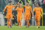 IM Torino 05-11-2013 Juventus Stadium<br /> Champions League 2013/2014<br /> Juventus Vs Real Madrid<br /> nella foto Esultanza Ronaldo<br /> foto Marco Iorio