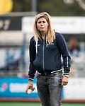 HUIZEN  -  assistent coach Kim Lammers (HUI)   , hoofdklasse competitiewedstrijd hockey dames, Huizen-Groningen (1-1)   COPYRIGHT  KOEN SUYK