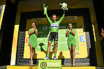 Marcel Kittel (GER) Quick-Step Floors retains the Green Jersey at the end of Stage 14 of the 104th edition of the Tour de France 2017, running 181.5km from Blagnac to Rodez, France. 15th July 2017.<br /> Picture: ASO/Bruno Bade | Cyclefile<br /> <br /> <br /> All photos usage must carry mandatory copyright credit (&copy; Cyclefile | ASO/Bruno Bade)