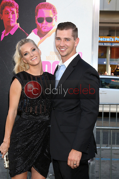 Heather Morris, Taylor Hubbell<br /> at the &quot;War Dogs&quot; Premiere, TCL Chinese Theater IMAX, Hollywood, CA 08-15-16<br /> David Edwards/DailyCeleb.com 818-249-4998