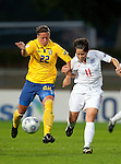 Lina Nilsson, Susan Smith, Sweden-England, Women's EURO 2009 in Finland, 08312009, Turku, Veritas Stadium.
