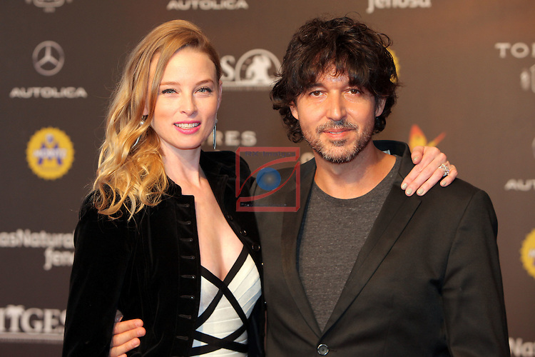 49 Festival Internacional de Cinema Fantastic de Catalunya-Sitges 2016.<br /> Red Carpet Inside.<br /> Rachel Nichols &amp; Miguel Angel Vivas.