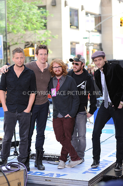 "WWW.ACEPIXS.COM . . . . . ....May 28 2010, New York City....One Republic performing on NBC's ""Today"" show at the Rockefeller Center on May 28, 2010 in New York City.....Please byline: KRISTIN CALLAHAN - ACEPIXS.COM.. . . . . . ..Ace Pictures, Inc:  ..tel: (212) 243 8787 or (646) 769 0430..e-mail: info@acepixs.com..web: http://www.acepixs.com"