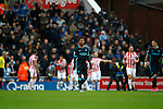Dejection for Raheem Sterling following Stoke's first goal - Football - Barclays Premier League - Stoke City vs Manchester City - Britannia Stadium Stoke - December 5th 2015 - Season 2015/2016 - Photo Malcolm Couzens/Sportimage