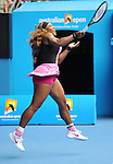 Serena Williams (USA) defeats Vesna Dolonc (SRB) 6-1, 6-2