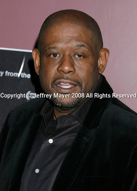 "HOLLYWOOD, CA. - February 10: Actor Forest Whitaker arrives at the Los Angeles premiere of ""Crips And Bloods: Mad In America"" at the Laemelle's Sunset Five on February 10, 2009 in Hollywood, California."