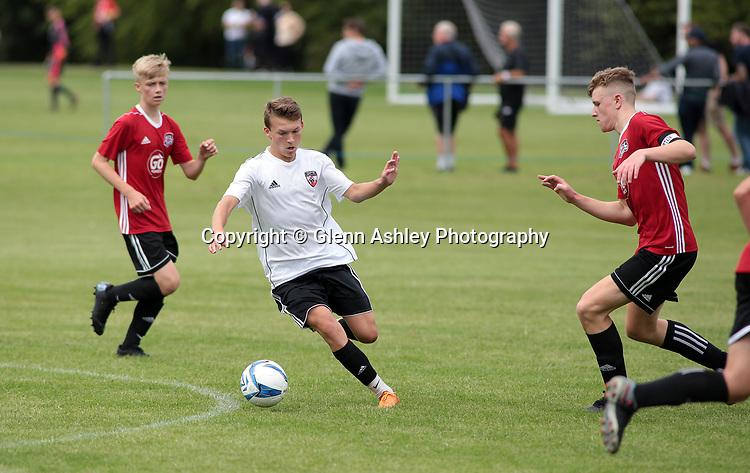 Maiden Cityi U-16's v GPS USA U-16's at the 2018 Youdan Trophy, Sheffield, United Kingdom, 3rd August 2018. Photo by Glenn Ashley.
