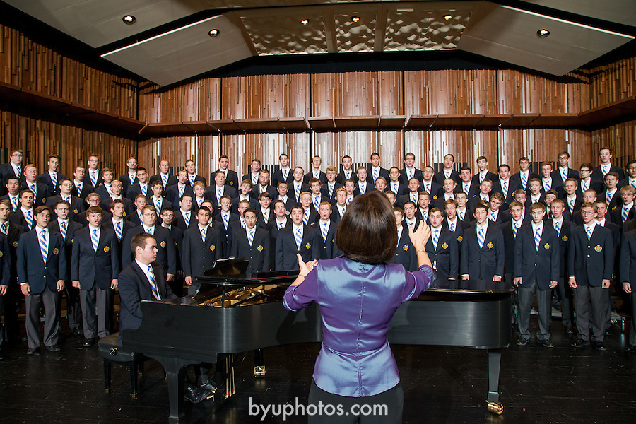 1209-42 060.CR2<br /> <br /> Men's Chorus on the deJong stage<br /> Rosalind Hall, director<br /> <br /> September 22, 2012<br /> <br /> Photography by Mark A. Philbrick<br /> <br /> Copyright BYU Photo 2012<br /> All Rights Reserved<br /> photo@byu.edu  (801)422-7322
