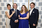 Jen Colella, Bartlett Sher, Bonnie Milligan and Jason Danieley attends the Camelot' Benefit Concert for Lincoln Center After Party at David Geffen Hall on March 4, 2019 in New York City.