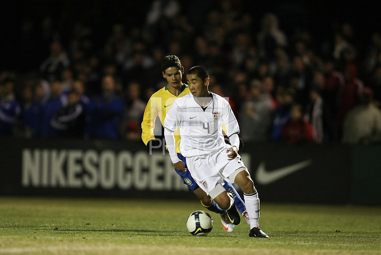 PHOENIX, AZ--US Soccer Development Academy, Reach 11, Phoenix, AZ, Friday, December 5, 2009. U17 USA ties Brazil 1-1.