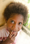 The face of the future in Lobo Village, Triton Bay, Papua. Concern for the well-being of kids and grandkids was a driving force in the community to decalre no take zones.