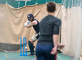 Cricket Scotland - Scotland men training at MES - Calum MacLeod - picture by Donald MacLeod - 26.01.2019 - 07702 319 738 - clanmacleod@btinternet.com - www.donald-macleod.com