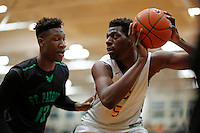 Patrick School vs Roselle Catholic boys basketball - 013016