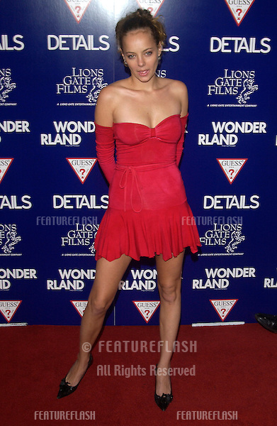 Actress BIJOU PHILLIPS at the Los Angeles premiere of Wonderland..Sept 24, 2003