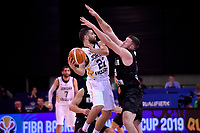 Jordan's Malek Kanaan in action during the FIBA World Cup Basketball Qualifier - NZ Tall Blacks v Jordan at Horncastle Arena, Christchurch, New Zealand on Thursday 29 November  2018. <br /> Photo by Masanori Udagawa. <br /> www.photowellington.photoshelter.com