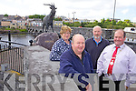 PRIDE: Killorglin Community Council members who will be leading the charge for Killorglin inclusion in the nationwide Pride of Place competition, l-r: Fionnuala Sarsfield, Terence Houlihan, Billy Browne, Paudie Cronin (Lord Mayor).