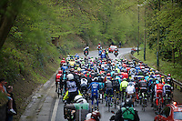 actual start of the race just outside the city limits of Liège<br /> <br /> 102nd Liège-Bastogne-Liège 2016