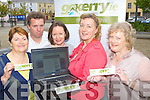 Go kerry tourism members who are currently gathering information of tourist attractions and tourism business's throughout Kerry for the gokerry.ie website l-r: Margaret Boyle North Kerry, Sean de Buitlear Go Kerry, Nickie Stephens Castleisland and East Kerry, Marie O'Brien Mid Kerry and Mary Walsh South Kerry..