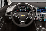 Car pictures of steering wheel view of a 2016 Chevrolet Cruze Premier 4 Door Sedan Steering Wheel
