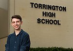TORRINGTON, CT-062317JS01-Torrington High School graduating senior Anthony Magro is a recovering heroin addict who used drugs for almost four years. Magro has been clean for more than four months. <br /> Jim Shannon Republican-American