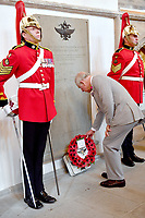 01 July 2019 - Wales, UK - Prince Charles Prince of Wales during a memorial service in Cardiff to mark the 60th anniversary of the Welsh Cavalry. Photo Credit: ALPR/AdMedia
