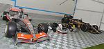 Lewis Hamilton's F1 McLaren & JICA Kart, Ayrton Senna's F1 Lotus & Dap Kart