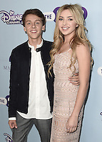 """HOLLYWOOD - OCTOBER 5:  Jacob Bertrand and Peyton List at the Los Angeles premiere of """"The Swap"""" at ArcLight Hollywood on October 5, 2016 in Hollywood, California. Credit: mpi991/MediaPunch"""