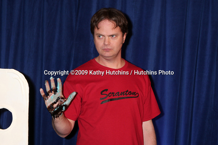 "Rainn Wilson   - 100th Episode of ""The Office""  On Location at Calamigos Ranch in Malibu , CA on April 14, 2009.©2009 Kathy Hutchins / Hutchins Photo....                ."