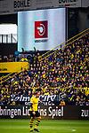 11.05.2019, Signal Iduna Park, Dortmund, GER, 1.FBL, Borussia Dortmund vs Fortuna Düsseldorf, DFL REGULATIONS PROHIBIT ANY USE OF PHOTOGRAPHS AS IMAGE SEQUENCES AND/OR QUASI-VIDEO<br /> <br /> im Bild | picture shows:<br /> das 0:1 fuer Duesseldorf wird nach VAR Entscheidung zururckgenommen, <br /> <br /> Foto © nordphoto / Rauch