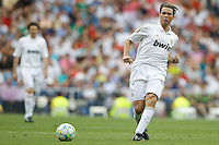 03.06.2012 SPAIN -  Corazon Classic Match 3rd Match played between Real Madrid CF vs Manchester United (3-2) at Santiago Bernabeu stadium. The picture show Fernando Redondo