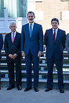 King Felipe VI of Spain in audience with representation of the grouping of cement manufactures   . September 26, 2019.. (ALTERPHOTOS/ Francis Gonzalez)