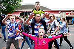 Reading fans cheer before the SkyBet Championship Play Off Final match at the Wembley Stadium, England. Picture date: May 29th, 2017.Picture credit should read: Matt McNulty/Sportimage