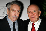 Edward Albee & Terrence McNally.attending the New Dramatists 58th Annual Spring Luncheon to honor Edward Albee at the Mariott Marquee Hotel in New York City..May 17th, 2007.© Walter McBride /